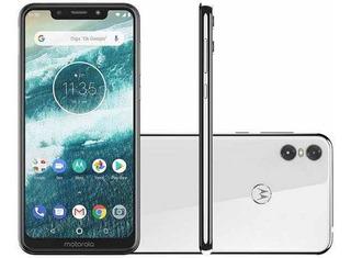 Celular Motorola One Semi-novo Super Barato Com Nf De Compra