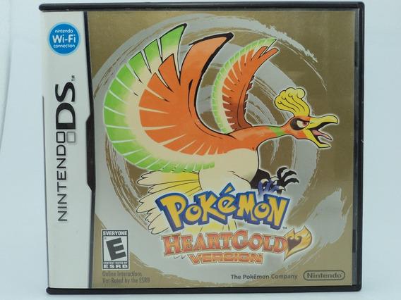 Pokemon Heart Gold Version - Nintendo Ds - Em 12x Sem Juros!