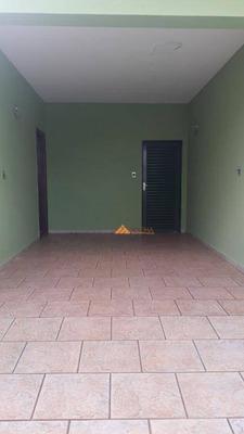 Casa Com 3 Dormitórios Para Alugar, 167 M² Por R$ 1.600/mês - Jardim Castelo Branco - Ribeirão Preto/sp - Ca2058