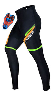 Roupa Ciclismo Calça Ciclista Gel Macio Proteção Uv Sku184