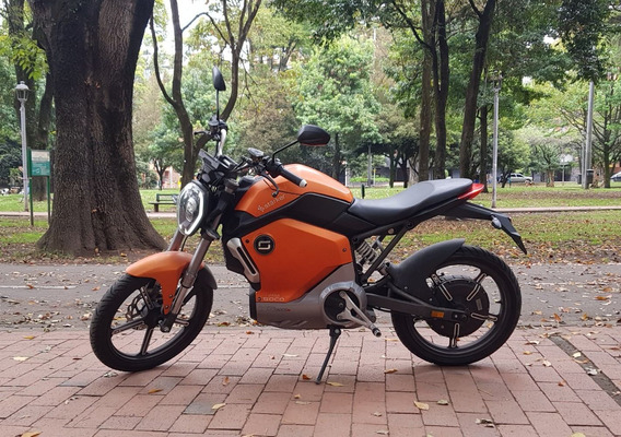 Moto Eléctrica Super Soco 1200r Motor Bosch