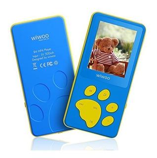 Wiwoo B4 8gb Niños Reproductores De Mp3 Con Ju