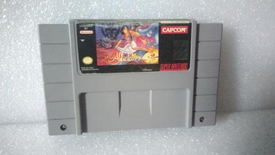 Aladdin Super Nintendo Snes 100% Orginal Americano F.grátis