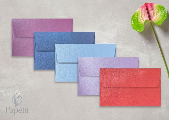 Sobres De Color Mate - Perlados // 11.5 X 18,5 // - X10u