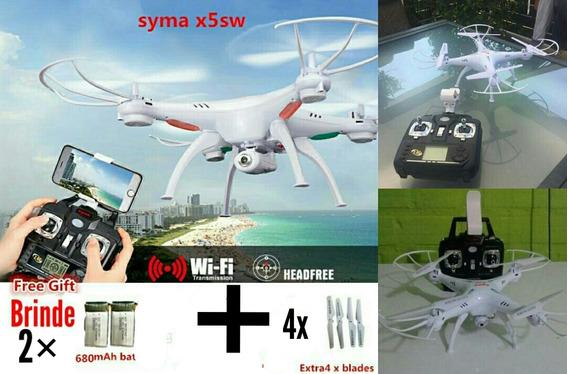 Promoção Drone Syma X5sw Câmera 2.4g 6-axis Para Iniciantes