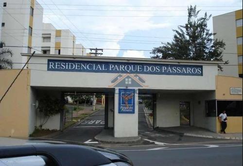 Apartamento Com 2 Dormitórios À Venda, 60 M² Por R$ 265.000 - Ortizes - Valinhos/sp - Ap0944