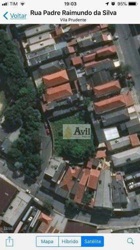 Terreno À Venda, 1146 M² Por R$ 2.450.000,00 - Vila Califórnia - São Paulo/sp - Te0026