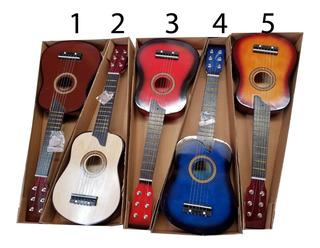 Guitarra De Madera Para Niños Envio Gratis Alta Calidad
