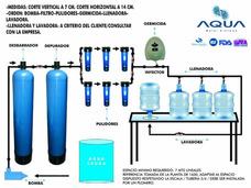 Plantas De Agua 2000 X Día/embotelladoras/filtros
