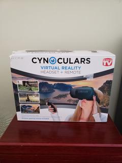 Óculos Realidade Virtual Com Controle Remoto Cynoculars