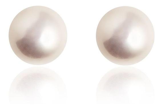 Brinco Masculino Feminino Pérolas Com Garra Em Prata