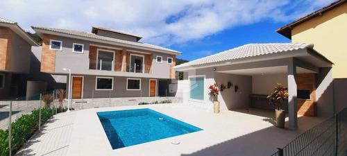 Linda Casa Com 3 Dormitórios À Venda, 90 M² Por R$ 560.000 - Piratininga - Niterói/rj - Ca0636