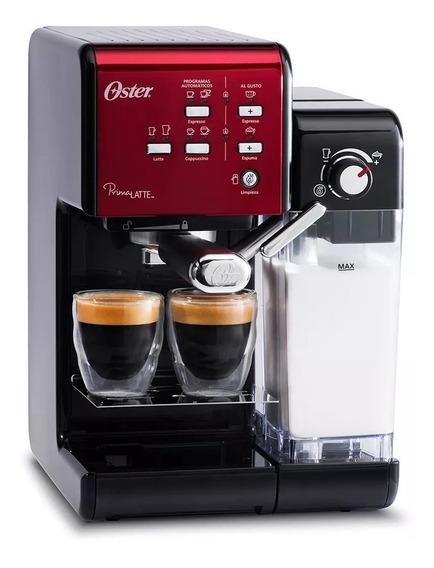 Cafetera Express Oster Prima Latte Cápsulas Cuotas Gtia Oficial