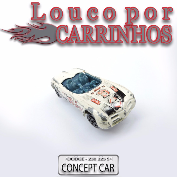 Carrinho Dodge Concept Car Majorette Usado Escala 1/50