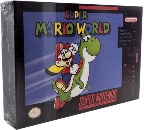 Luminaria Snes Super Mario World Luminart Nintendo Paladone