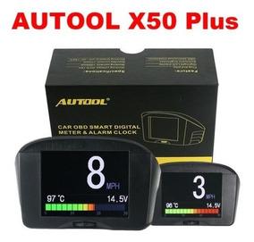 Computador De Bordo Obd2 Scanner Autool X50 Plus Tela 2.4