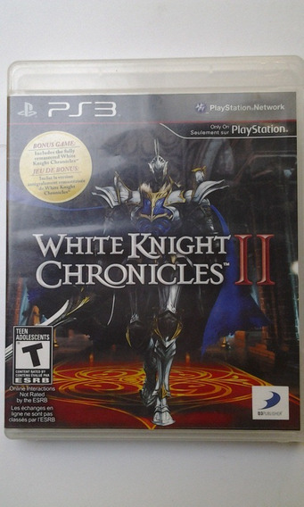 Ps3 White Knight Chronicles 2 Y 1 $680 Pesos Usado Mikegames