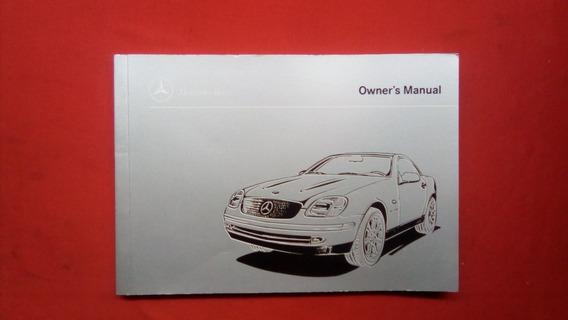 Manual Do Proprietário Mercedes Slk 99 / 2002