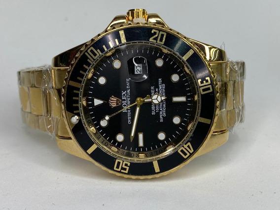 Rolex Dorado Cara Negra Submariner