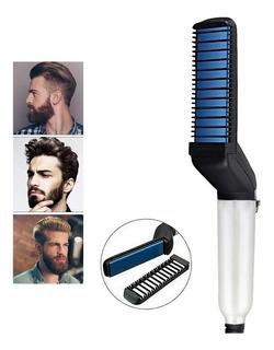 Cepillo Alisador Hombre Cepillo Barba Alisadora De Barba Ele