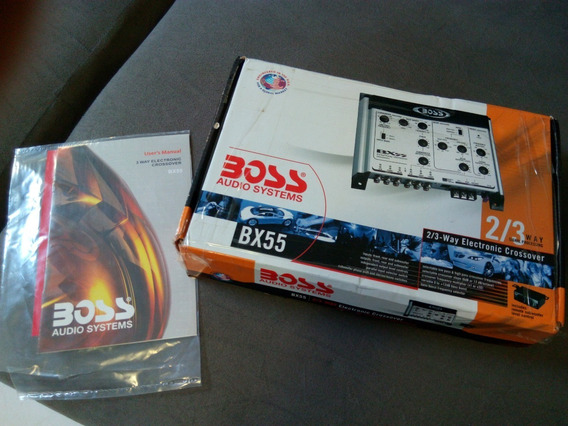 Crossover Boss 2/3 Canais Bx55