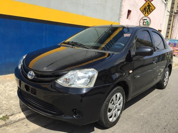 Etios Sedan 2013 Xs 1.5 Mecanico Preto Periciado Winikar!!