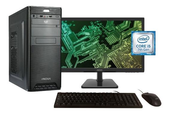 Computadora Completa Enova I5 1tb Ddr4 8gb Monitor 24