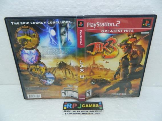 Jak 3 Original C/ Caixa P/ Ps2 Playstation 2 - Loja Rj