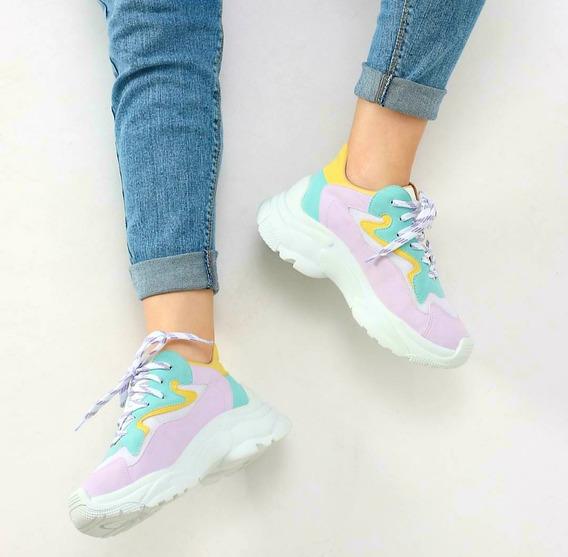 Tênis Zatz Chunky Sneaker Candy