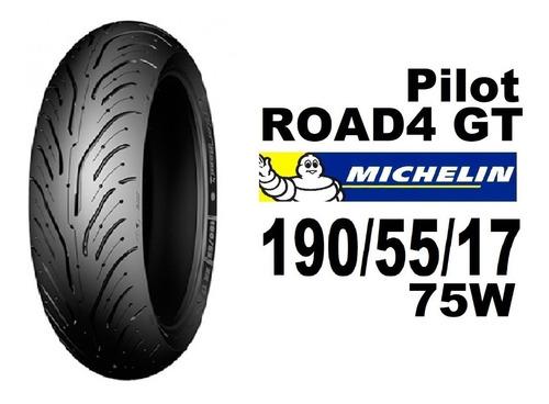 Michelin Pilot Road 4 Gt 190 55 17 75w - Envio Gratis