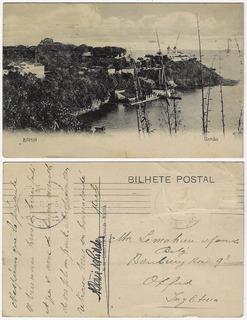 Bahia 1916 Cartão Postal Foto Solar Do Unhão Em Salvador