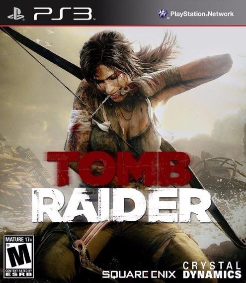 Tomb Raider + Online Ps3