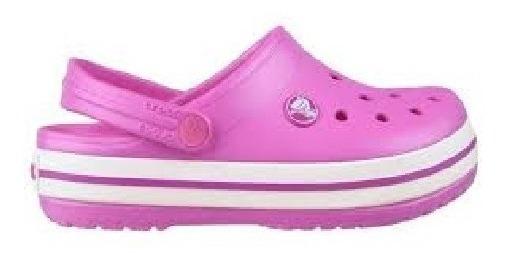 Crocs Crocband Kids Niños Party Pink En La Plata