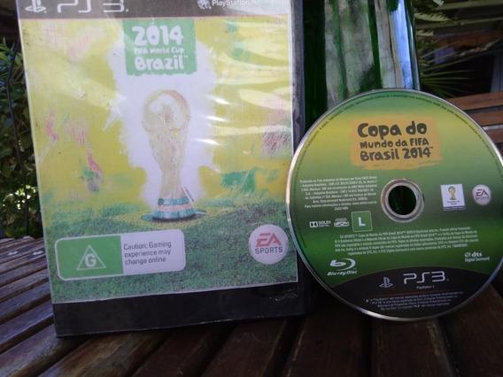 Jogo Copa Do Mundo Fifa 2014 Original Ps3 Cd