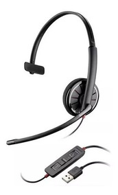 Headset Usb Plantronics Blackwire C310 (skype, Gamer, Voip)