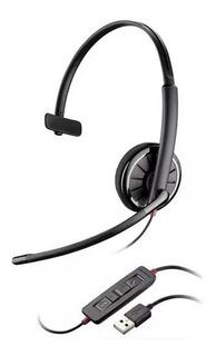Headset Usb Plantronics Blackwire C310 (skype, Gamer, Voip)