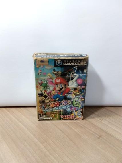 Mario Party 6 Game Cube Original Japonês Mario Party Usado