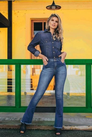 Calça Jeans Feminina Mom - Skinny - Flare - Slim - Destroyed
