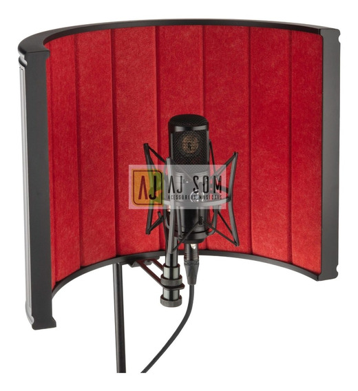 Difusor Acústico P/ Pedestal Vocal Booth Reflection Filter !