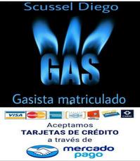 Gasista Matriculado Y Plomero Zona Sur