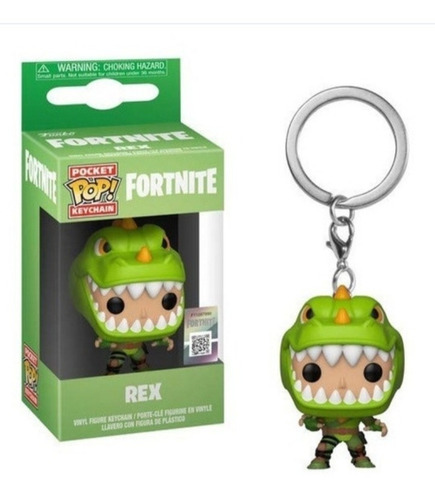 Funko Pop ! Keychain Fortnite Rex Original