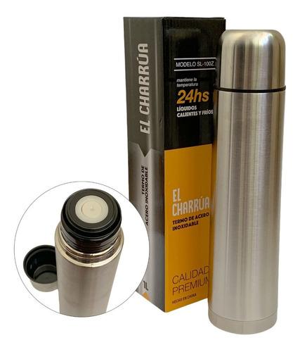 Termo Bala 1 Litro Acero Inoxidable Calidad Premium