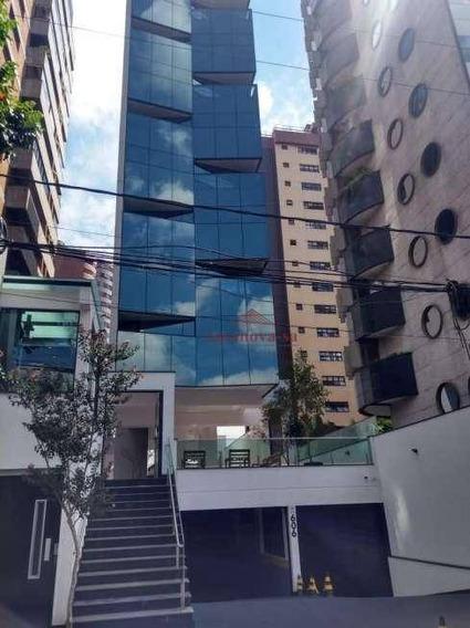 Sala Nova Bairro Jardim , 73 M² Por R$ 3.000/mês - - Santo André/sp - Sa0048