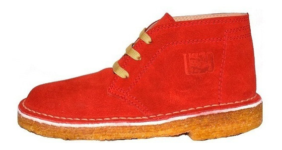 Botas De Gamuza Clásicas Goma Crepe Zapatos Argentinos!!!!