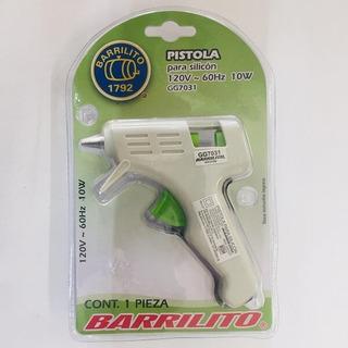 Gg7031 Pistola P/silicon Chica(pe10w) Barrilito