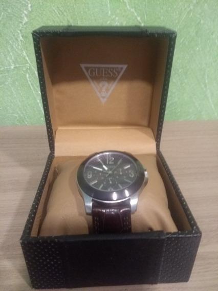 Relógio Guess Original De Couro (sem Bateria)