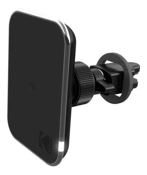 Soporte Holder Celular Carro+ Cargador Inalámbrico A/c Kodak