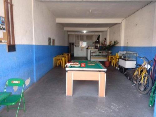 Salão À Venda, 125 M² Por R$ 400.000,00 - Jardim Presidente Dutra - Guarulhos/sp - Sl0022