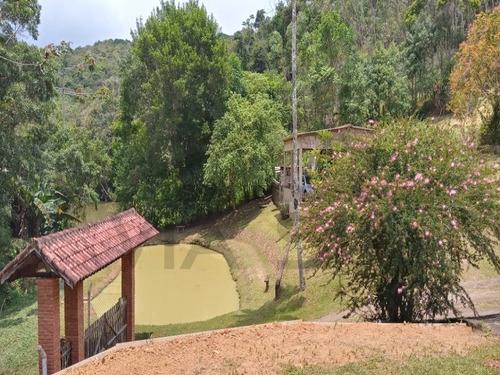 Imagem 1 de 15 de Aconchegante Propriedade Apenas 2 Km Do Centro Do Barnabés Em Juquitiba/sp,  Com Lindo Lago. - 402 - 69871849