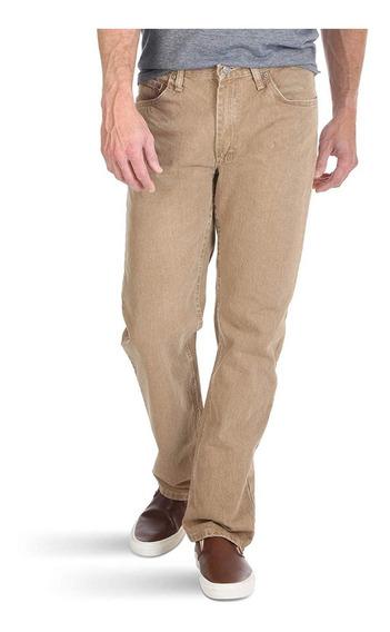 Pantalon Hombre Wrangler Clasico Ajuste Regular Original